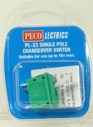 Peco PL23 Lever operated single pole changeover switch - half price!